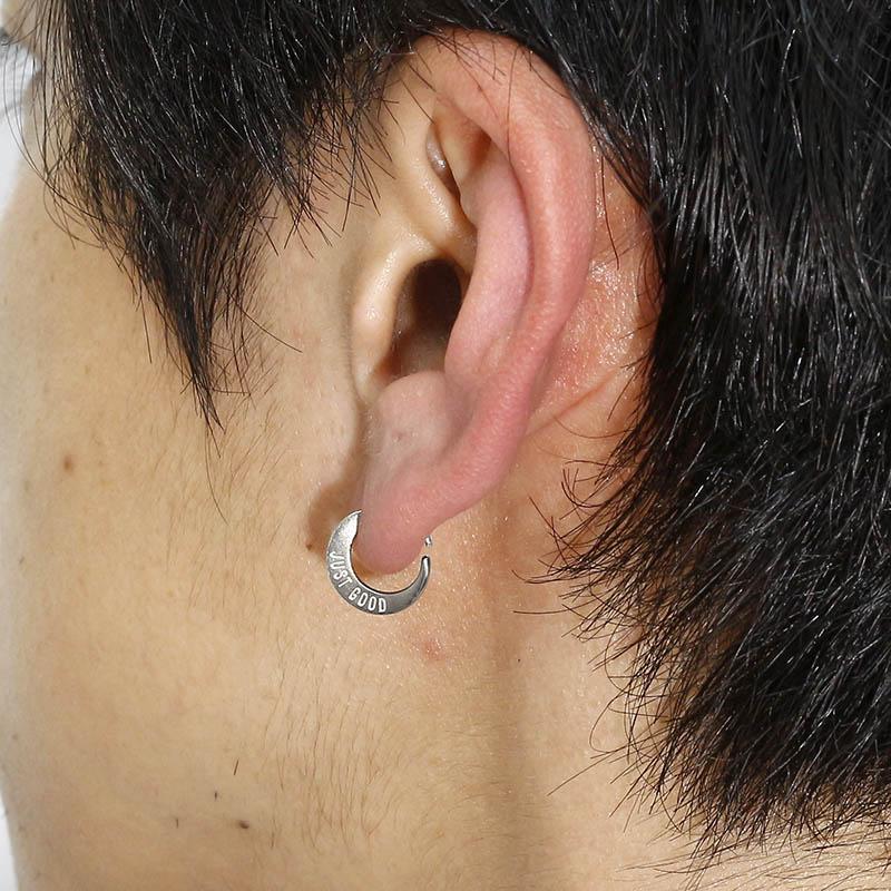 Medium Hook Pierce - Silver