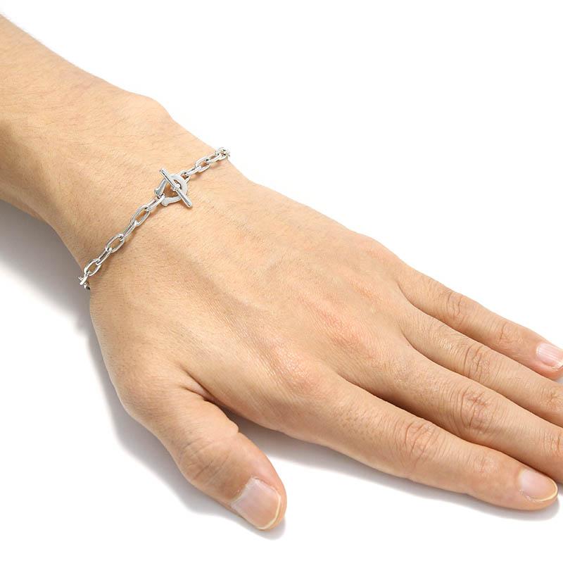Horseshoe Amulet T-Bar Bracelet