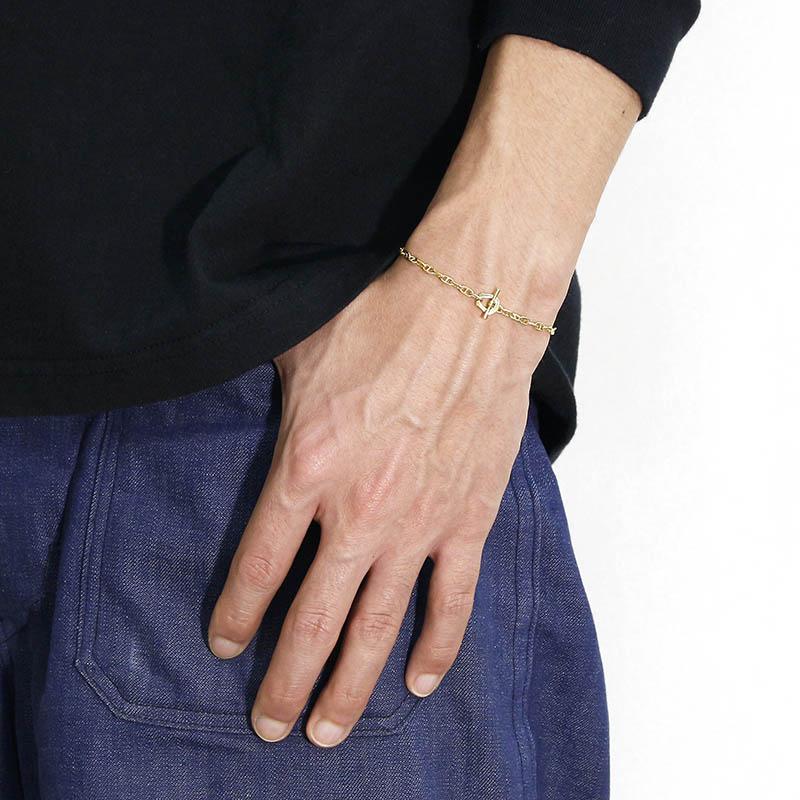 Classic Chain Bracelet - Anchor - K18Yellow Gold