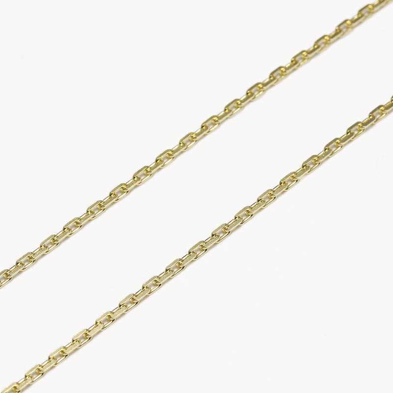 K18Yellow Gold 0.53 Square Chain