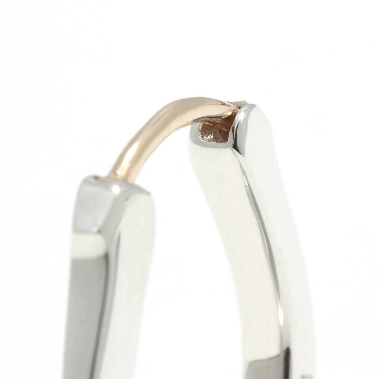 Horseshoe Hoop Pierce - Silver
