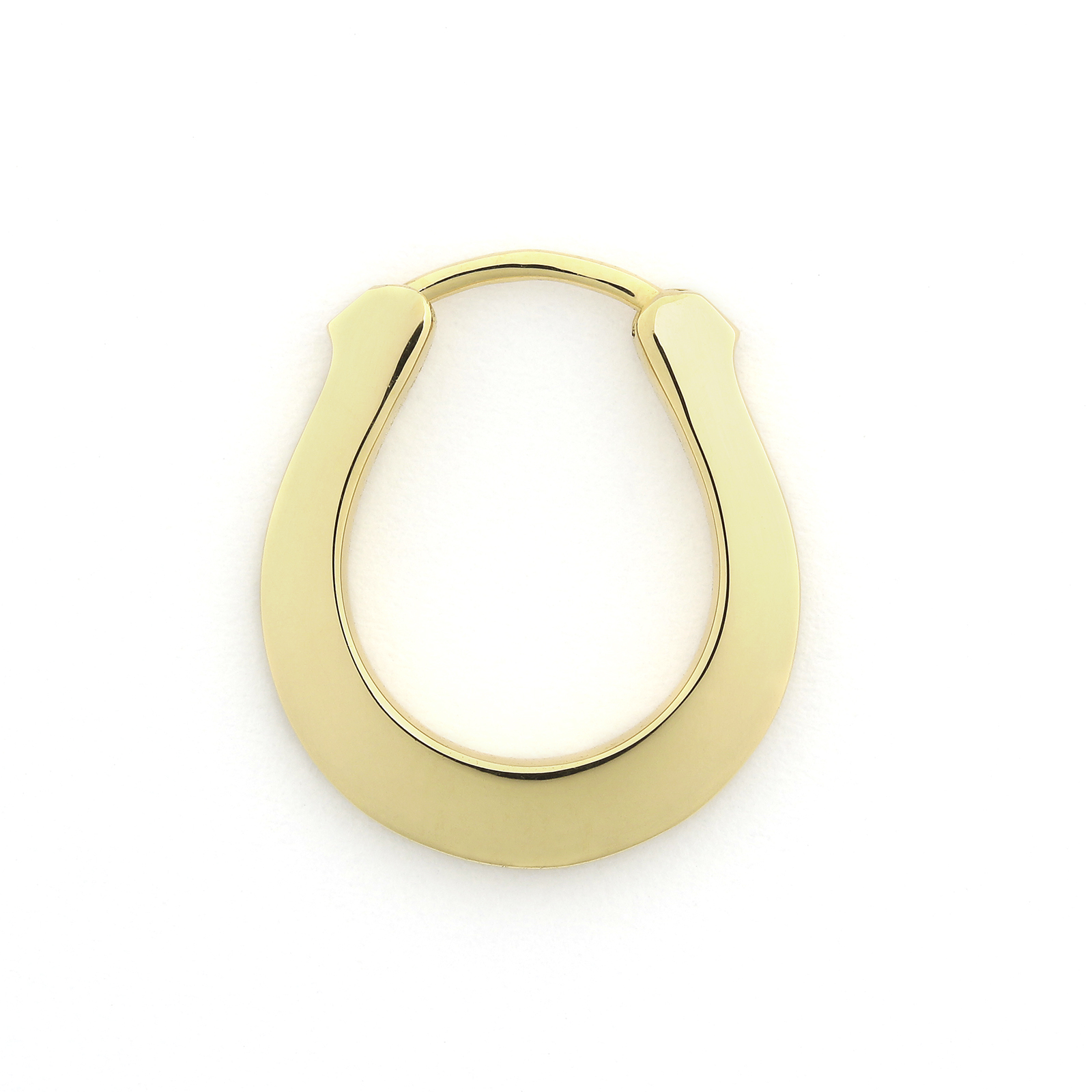 Horseshoe Hoop Pierce - K18Yellow Gold