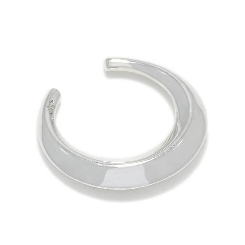 Moon Ear Cuff - Silver