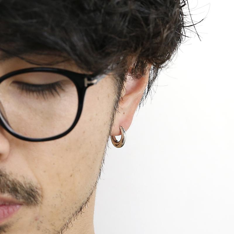 Chubby Hoop Pierced Earring Large