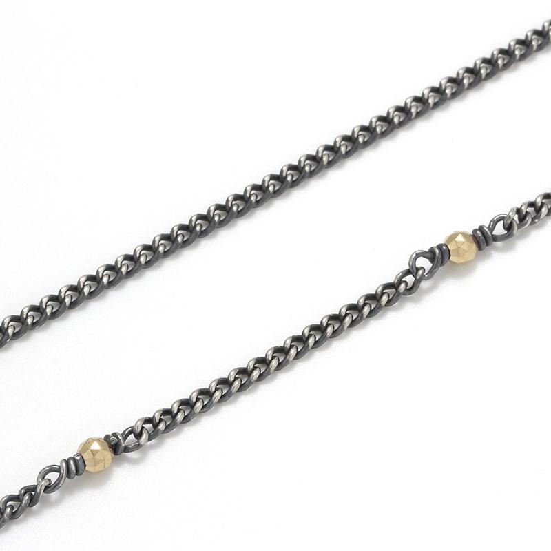 KIHEI CHAIN with 10KYG Beads