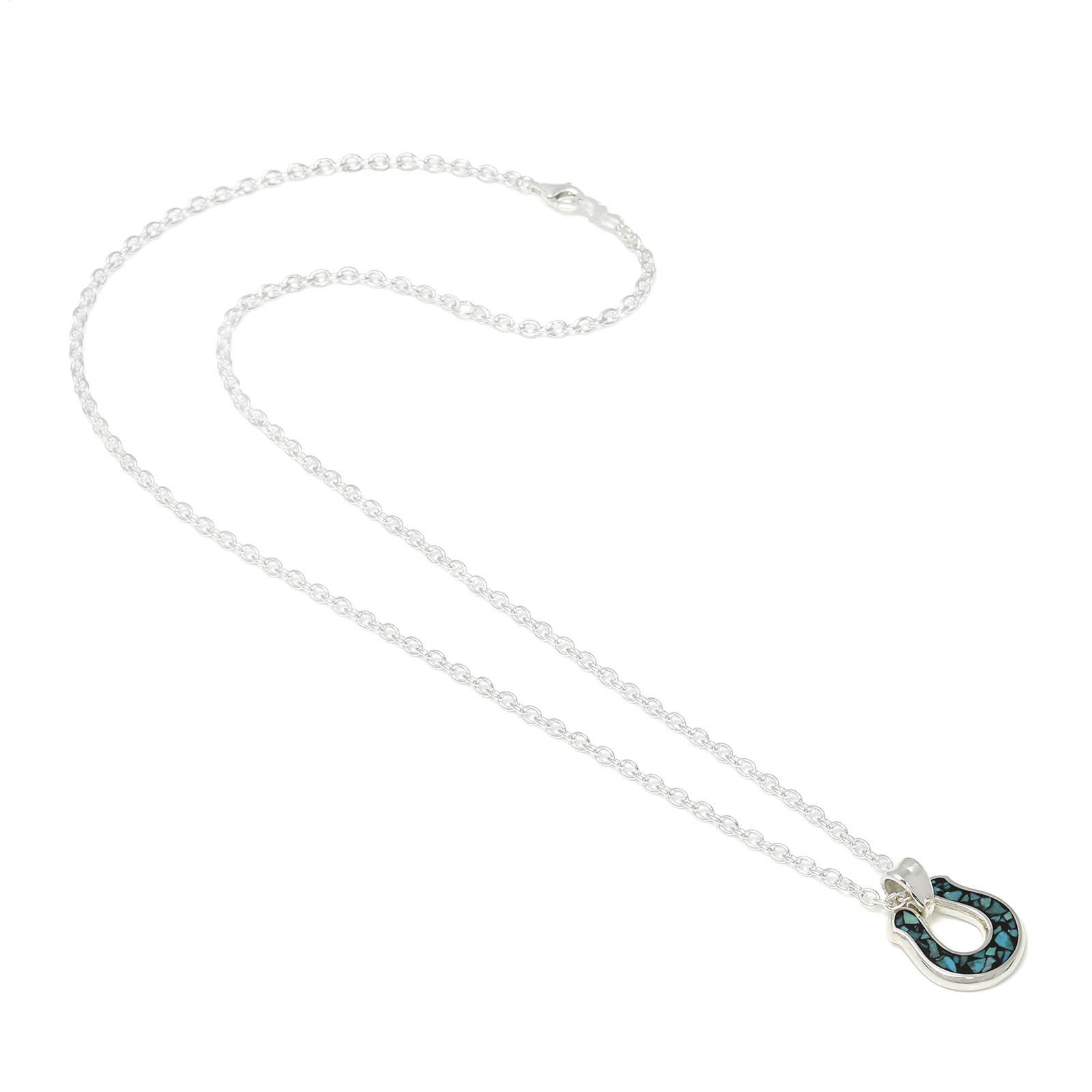 Horseshoe Inlay Necklace