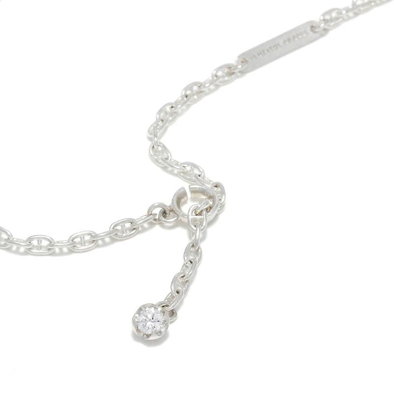 LG Diamond Chain Necklace - Silver w/Laboratory Grown Diamond