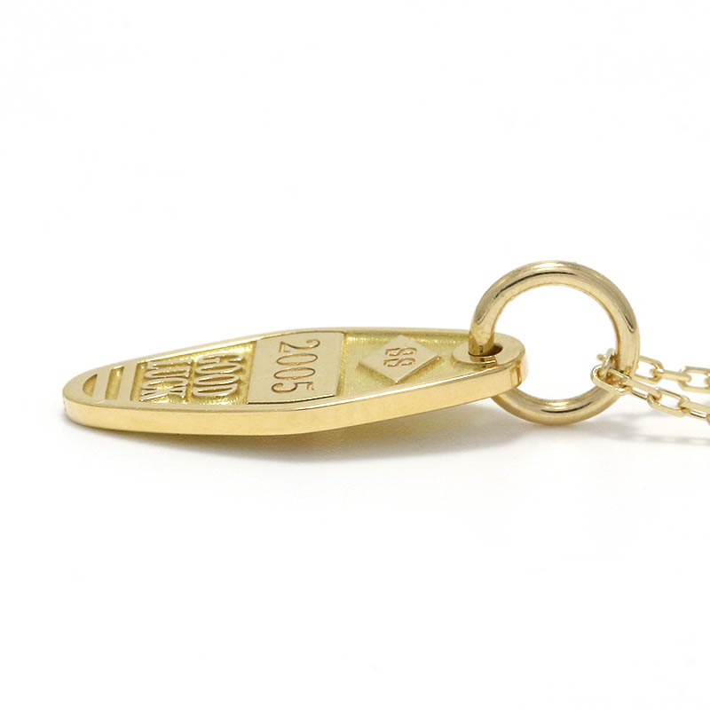 Small Charm Necklace - Motel Keyholder - K18Yellow Gold