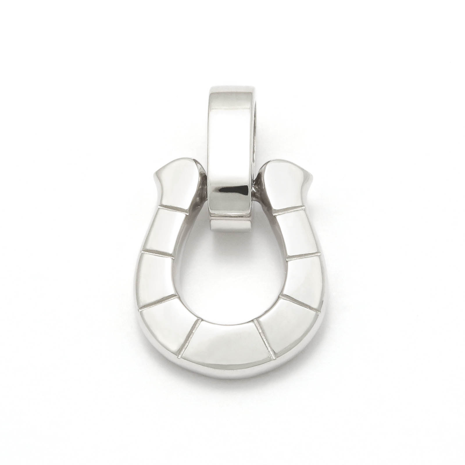 Horseshoe Amulet - Silver