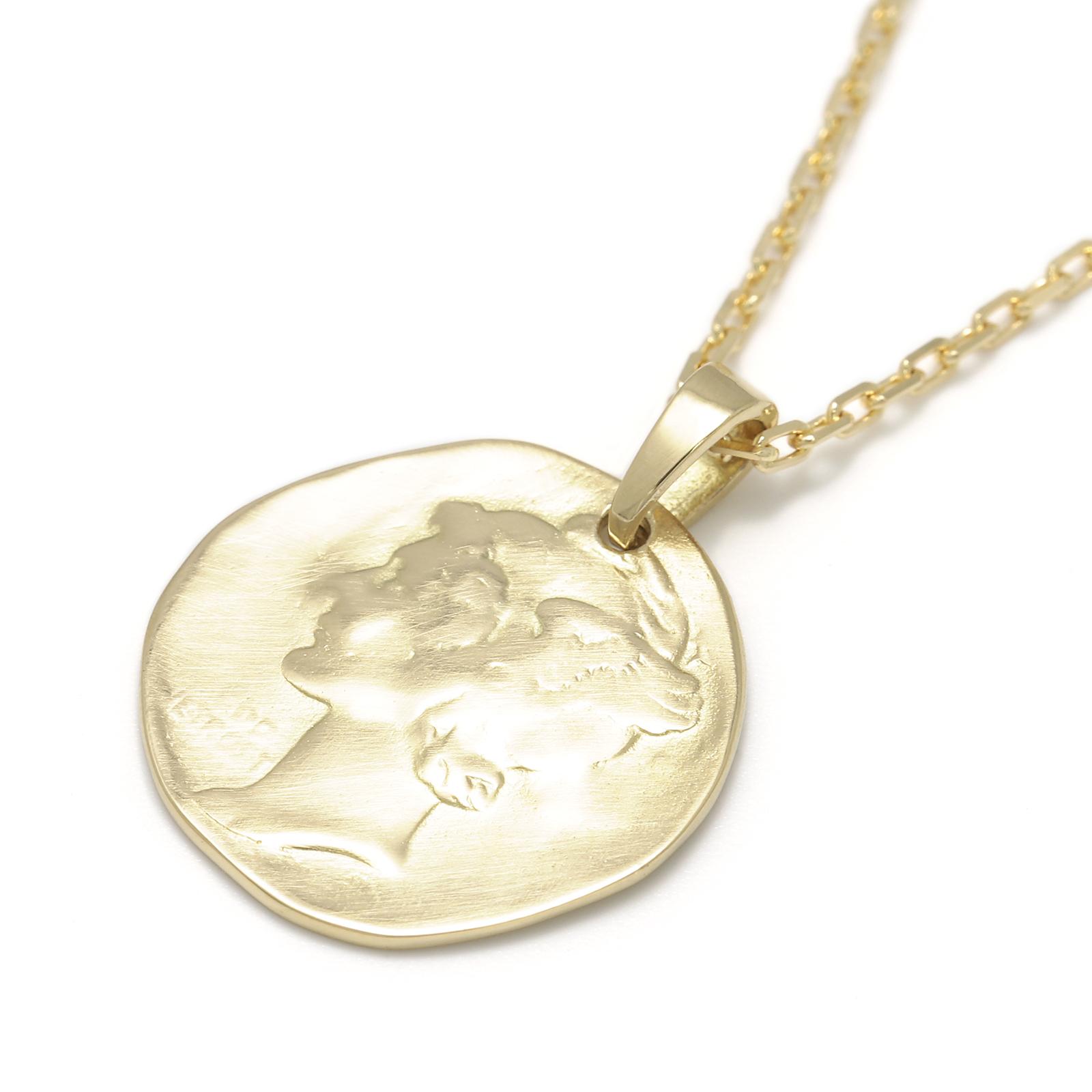 Liberty Head Pendant - K18Yellow Gold