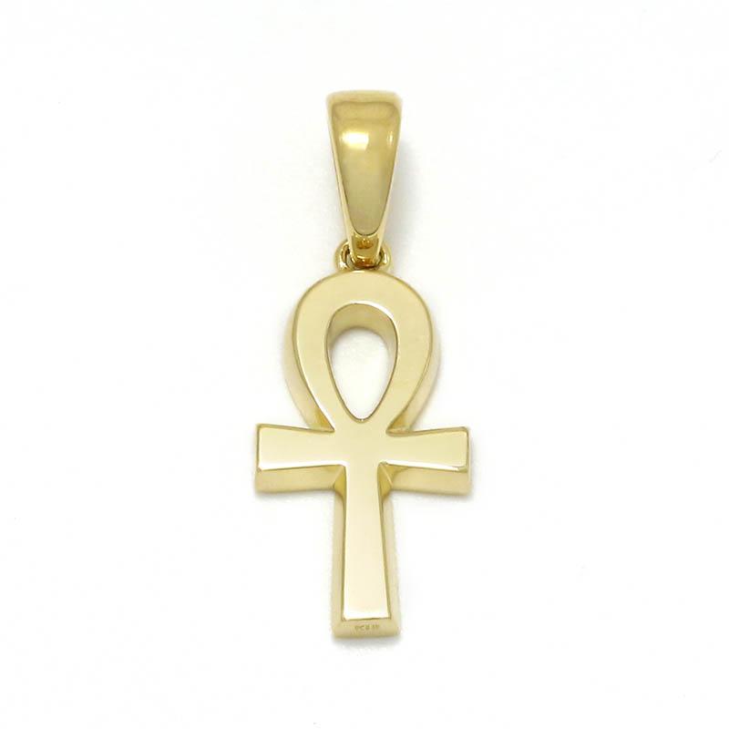 Ankh Pendant - K18Yellow Gold
