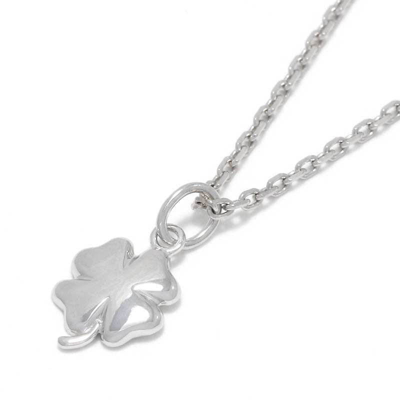 Small Clover Charm - Silver