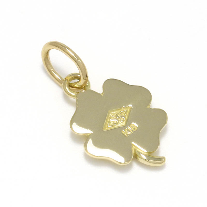 Small Clover Charm - K18Yellow Gold
