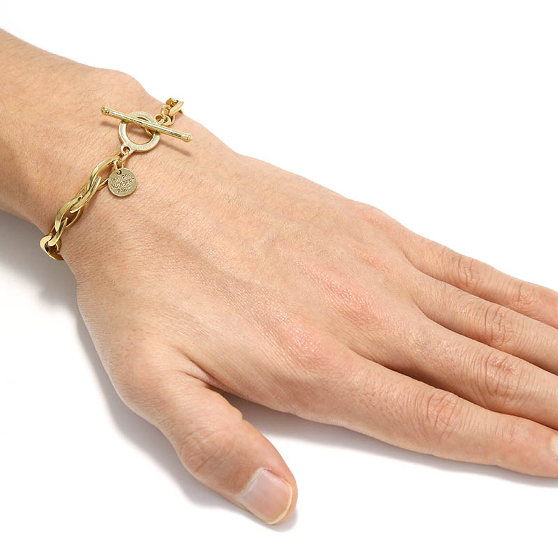 Elton Bracelet - Light Gold Color