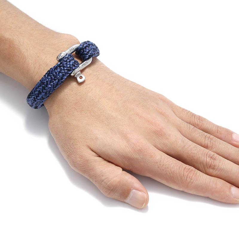 Gorgeous George - Navy×Violet Blue | Silver