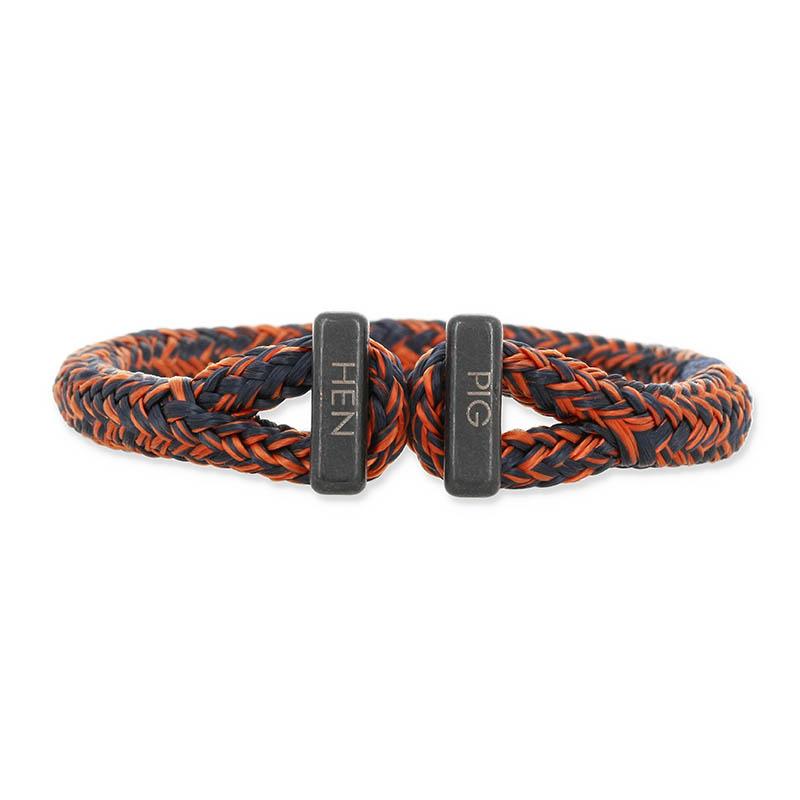 Icy Ike - Navy×Maple Orange | Black