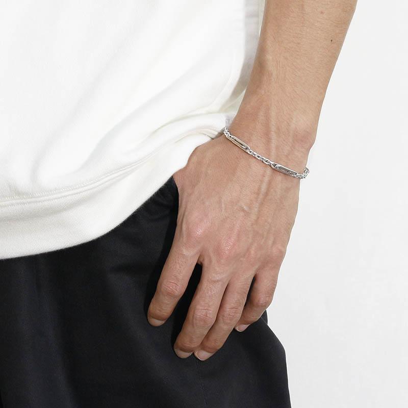 Double Link Bracelet / MOKUME×Silver