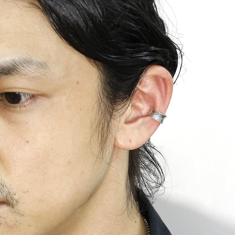 Nature MOKUME Curvature Ear Cuff