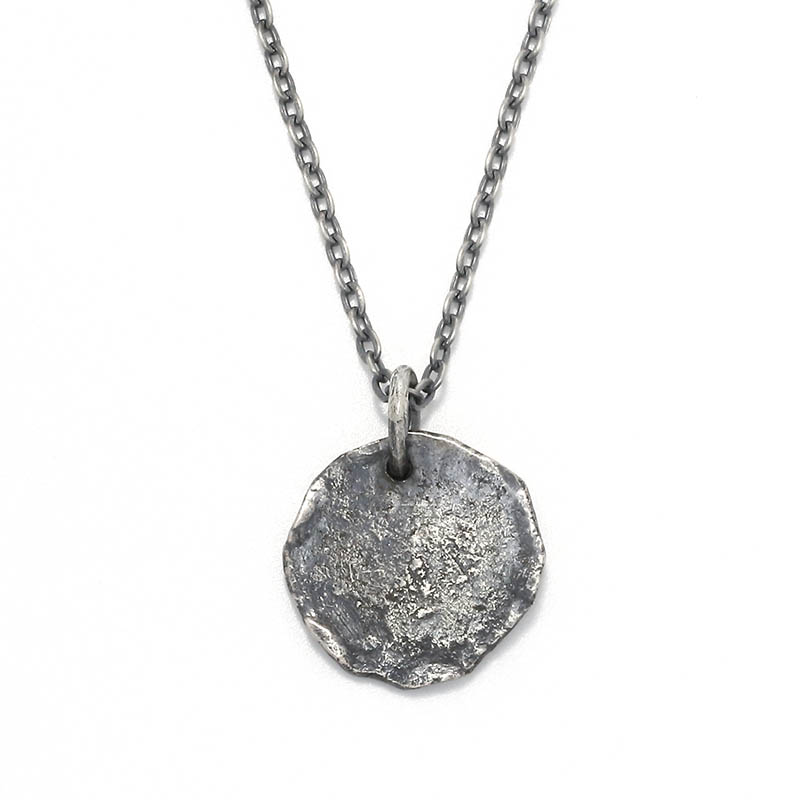 Remix Coin Necklace - Silver