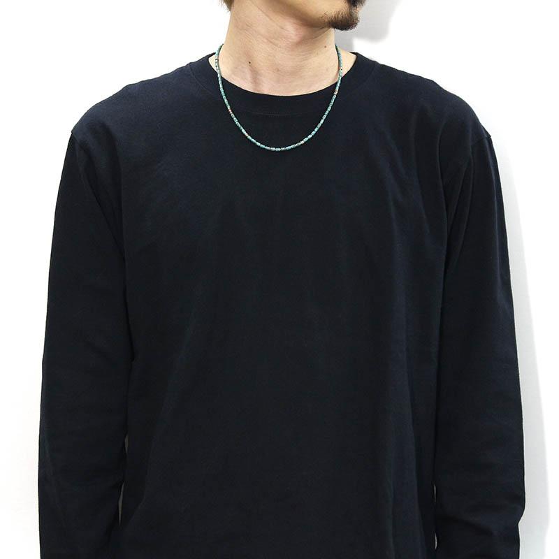 Tube Beads Necklace / Turquoise