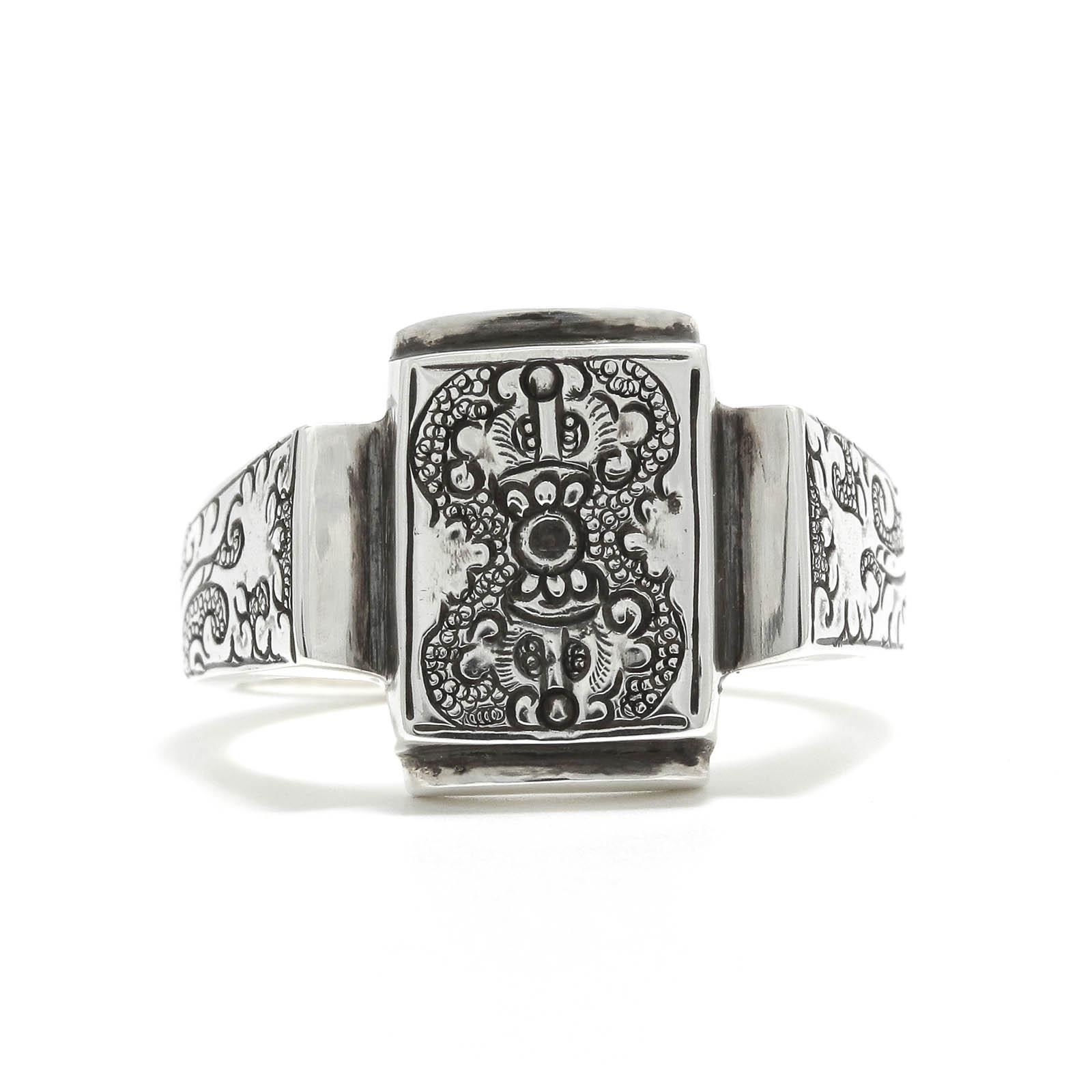 Square Dorje Ring