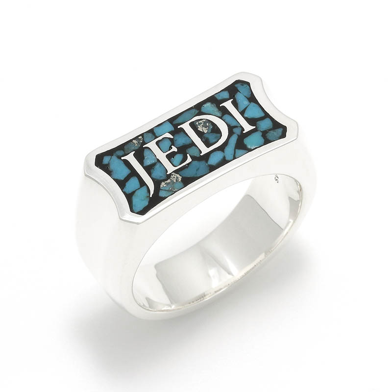 STAR WARS Collection Inlay Ring - JEDI -
