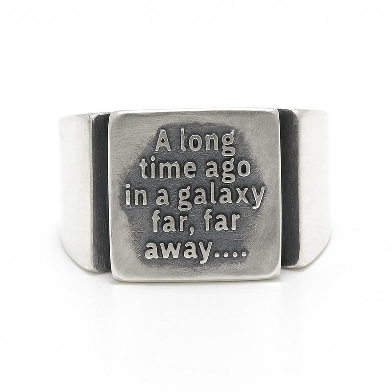 STAR WARS Collection Signet Ring - Prologue -