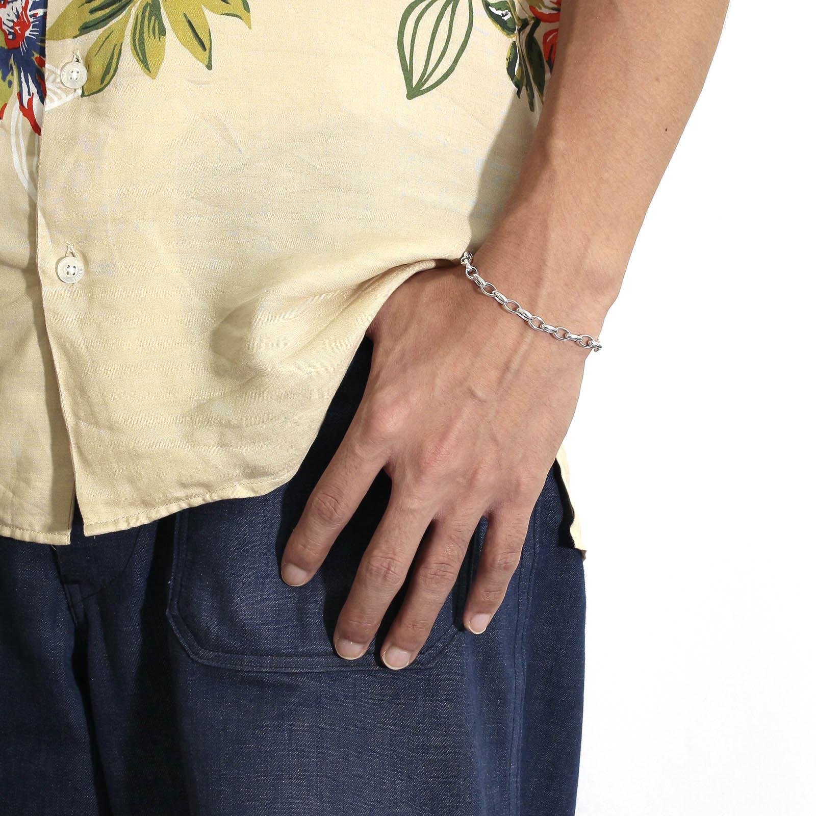 Hollow Chain Bracelet TYPE:2 - Silver