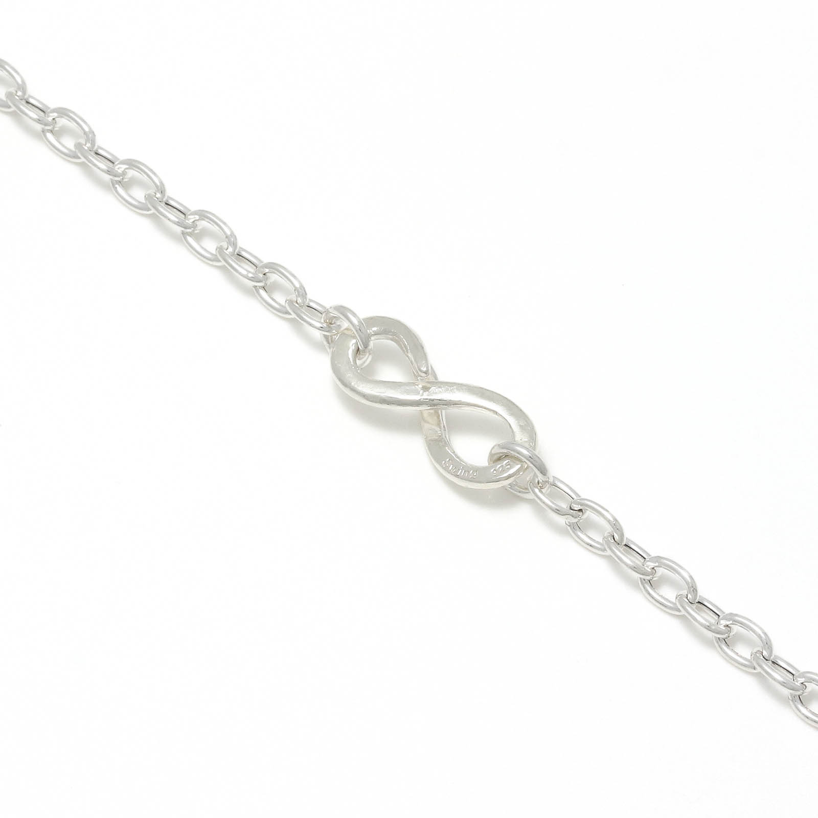 Hollow Chain Necklace - Silver