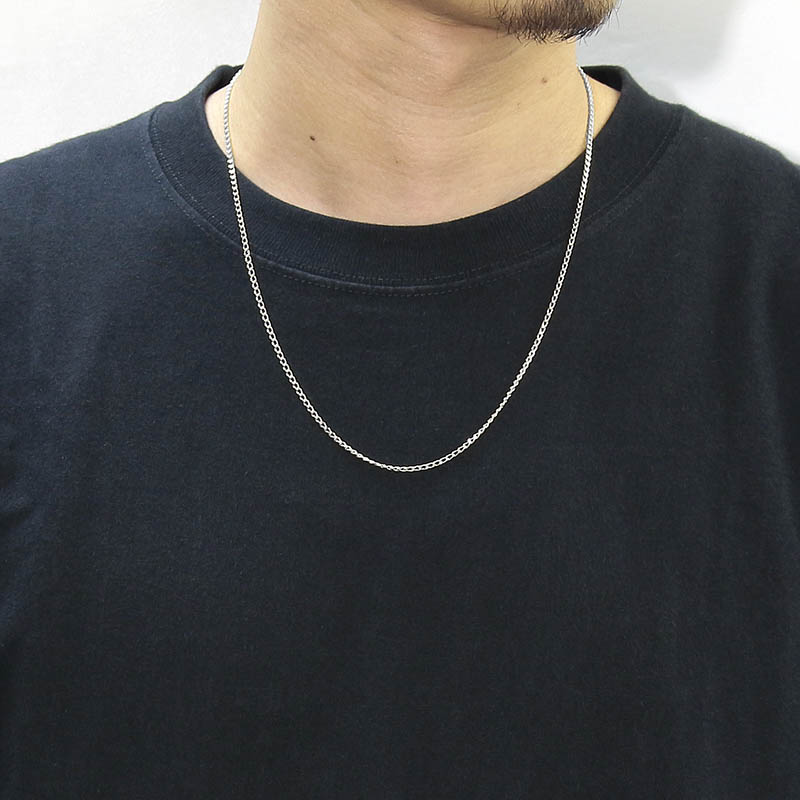 JUST GOOD Chain Necklace - Classic - Silver