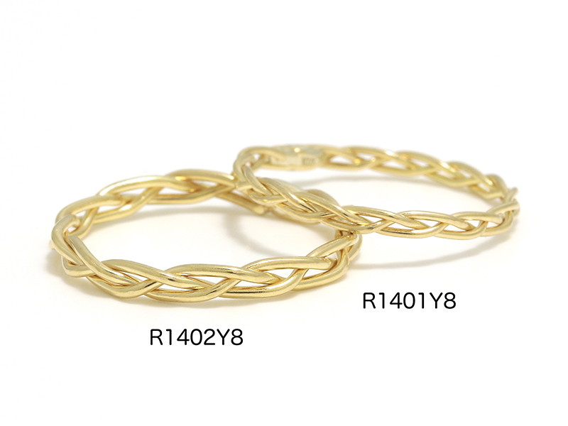 Woven Ring - K18Yellow Gold