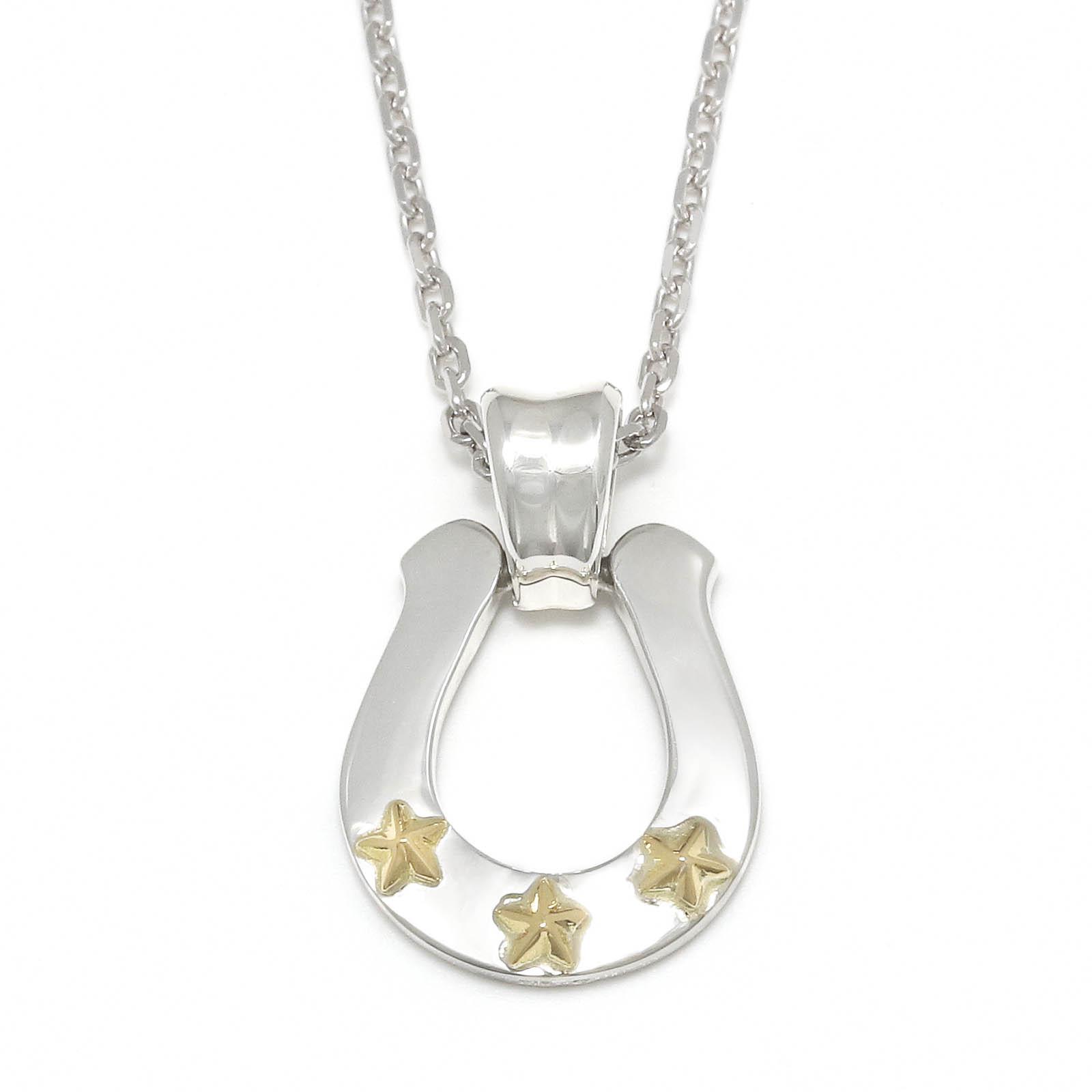 S.O.S fp恵比寿店・WEB限定 Star Horseshoe Necklace