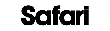 雑誌Safari掲載商品