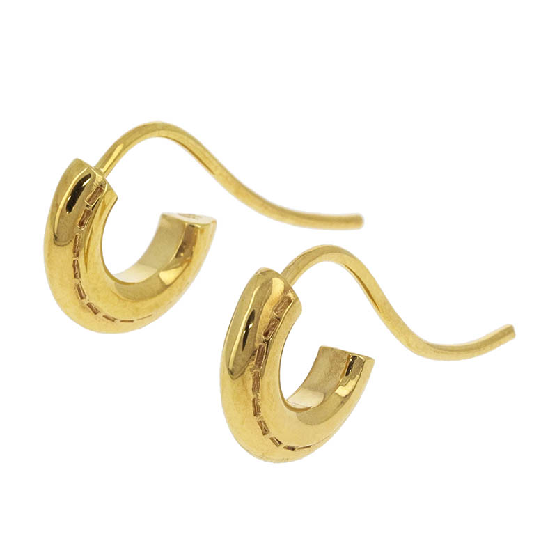 Stitch Hoop Pierce - Gold Plated
