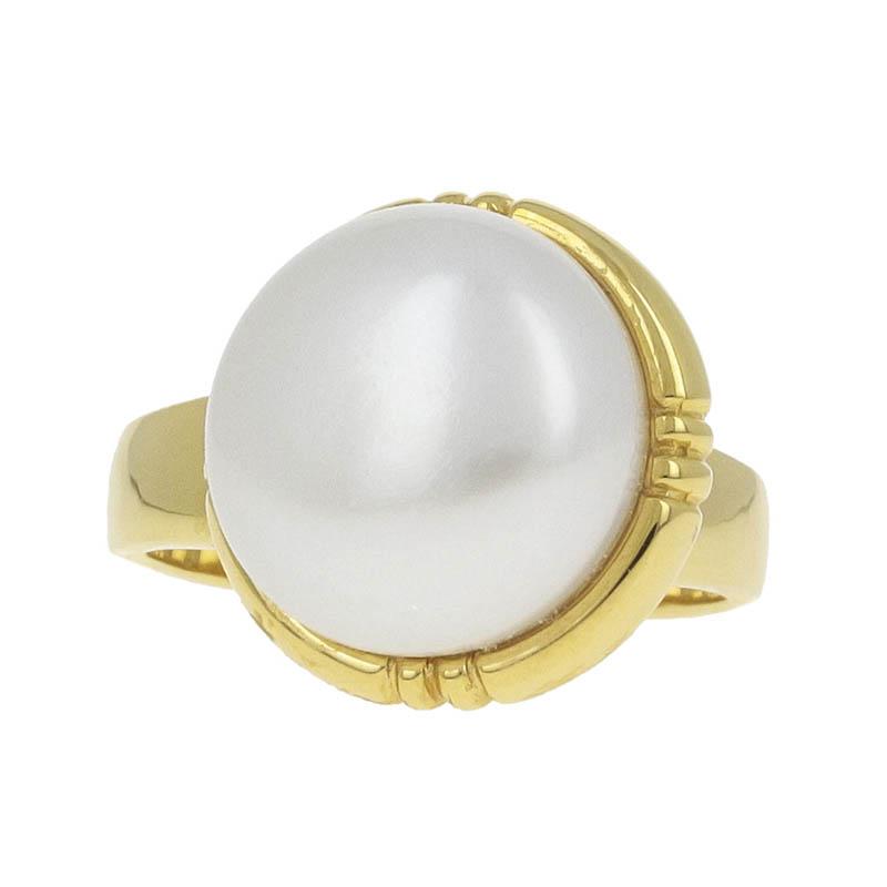 Tilt Pearl Ring