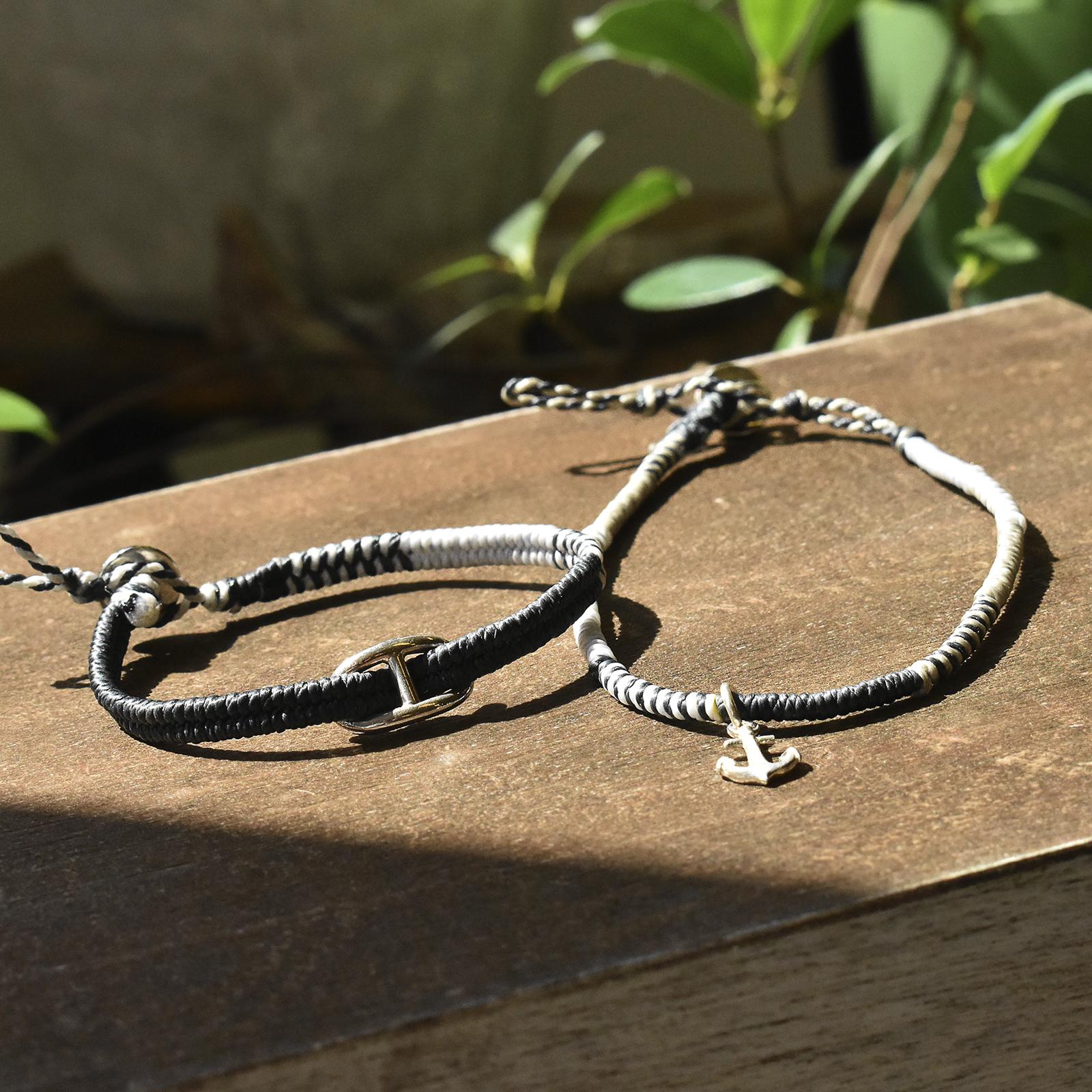 Collaboration Braid Bracelet & Anklet